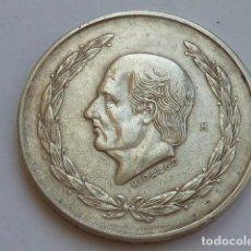 Monedas antiguas de América: MONEDA DE PLATA DE 5 PESOS DE MEXICO DE 1952, HIDALGO CABEZA PEQUEÑA, PESA 27,9 GRAMOS . Lote 127884507