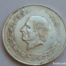 Monedas antiguas de América: MONEDA DE PLATA DE 5 PESOS DE MEXICO DE 1953, HIDALGO CABEZA PEQUEÑA, PESA 27,9 GRAMOS . Lote 127884571