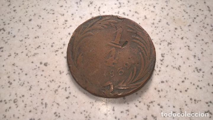 MÉXICO. 1/4 DE REAL DE 1832 (Numismática - Extranjeras - América)