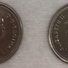 Monedas antiguas de América: CANADA - DOS MONEDAS DE DIEZ CENTAVOS (10 CENTIMOS) AÑO 1981 - KM77.2 - BIEN CONSERVADAS. Lote 128387767