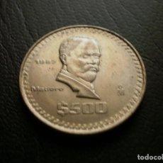 Monedas antiguas de América: MEJICO 500 PESOS 1987. Lote 128654699