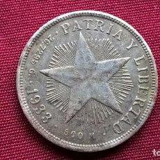 Monedas antiguas de América: CUBA. PESO DE PLATA DE 1933. Lote 128665591