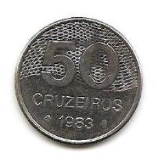 Monedas antiguas de América: LOTE DE CRUZEIROS BRASILEÑOS - AÑO 1983 . Lote 128676799
