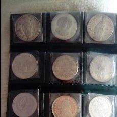 Monedas antiguas de América: LOTE DE 12 MONEDAS - MEDALLAS DE PLATA ONZAS DE PLATA?. Lote 193173622