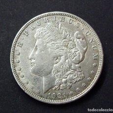 Monedas antiguas de América: USA (ESTADOS UNIDOS) 1 DOLAR DE PLATA, 1921. EBC. Lote 129283507