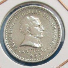 Monedas antiguas de América: URUGUAY. MONEDA DE 5 CENTÉSIMOS. 1953.. Lote 129618275