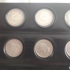 Monedas antiguas de América: CANADA LOTE 20 MONEDAS DIFERENTES 25 CENTS PLATA. Lote 129989896
