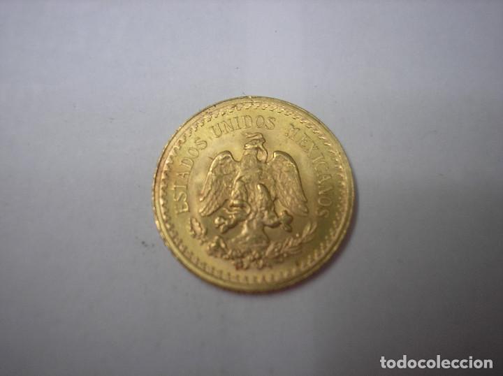 Monedas antiguas de América: MÉXICO, 2 1/2 PESOS DE ORO DE 1945 - Foto 2 - 131985154