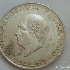 Monedas antiguas de América: MONEDA DE PLATA DE 5 PESOS DE MEXICO DE 1956, HIDALGO. Lote 132706634