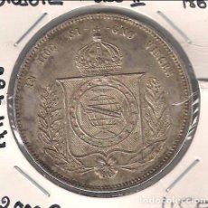 Monedas antiguas de América: MONEDA DE 2000 REIS DE BRASIL DE 1865 DE PEDRO II. PLATA. SIN CIRCULAR. WORLD COINS-KM 466. (ME762). Lote 133112390