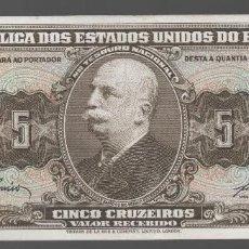 Monedas antiguas de América: BRASIL = 5 CRUZEIROS. Lote 133592302