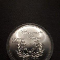 Monedas antiguas de América: 5 DOLARES PLATA CANADA 1976. Lote 133683002