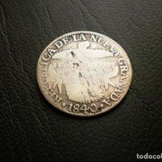 Monedas antiguas de América: COLOMBIA ( NUEVA GRANADA ) 2 REALES 1840 PLATA. Lote 134014130