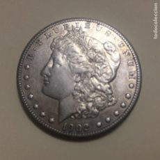 Monedas antiguas de América: CR MONEDA 1$ DE PLATA MORGAN 1902 LETRA S. Lote 134133463