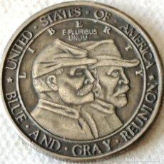 Monedas antiguas de América: MONEDA ANIVERSARIO BATALLA DE GETTYSBURG. GENERAL ROBERT E. LEE. ½ DÓLAR. 1863-1936. ESTADOS UNIDOS. Lote 134242830