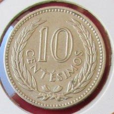 Monedas antiguas de América: URUGUAY. MONEDA DE 10 CENTÉSIMOS. 1953.. Lote 134313798