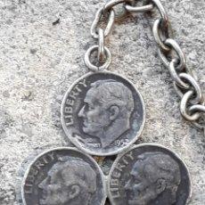 Monedas antiguas de América: LLAVERO MONEDA. Lote 134912215