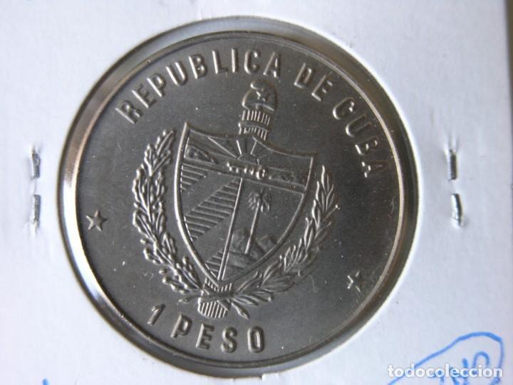 Monedas antiguas de América: MONEDA DE 1 PESO - CUBA - 1985 - IGUANA - SC - Foto 3 - 135172182