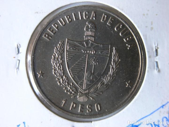 Monedas antiguas de América: MONEDA DE 1 PESO - CUBA - 1985 - COCODRILO - SC - Foto 3 - 135172290