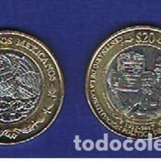 Monedas antiguas de América: MEXICO . 20 PESOS 2017 ( CENTENARIO CONST ) SC.UNC. KM.NUEVO. Lote 135271170
