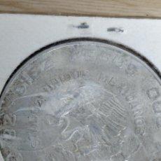 Monedas antiguas de América: DIEZ PESOS MEXICANOS DE PLATA, 1956.. Lote 135887342