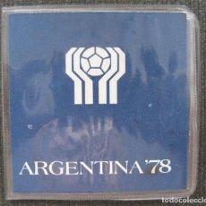 Monedas antiguas de América: CARTERA DEL MUNDIAL DE FÚTBOL 1978. Lote 136097890