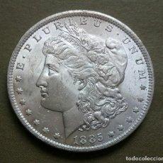 Monedas antiguas de América: ESTADOS UNIDOS. 1 DÓLAR 1885. NUEVA ORLEANS. (SC) BRILLO ORIGINAL. Lote 136104278