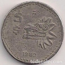 Monnaies anciennes d'Amérique: MÉXICO - 5 PESOS 1980 - KM#485. Lote 143928410