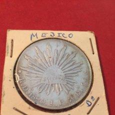 Monedas antiguas de América: MONEDA PLATA MÉXICO 8 REALES 1890. Lote 137244065