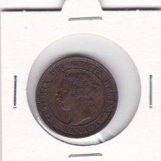 Monedas antiguas de América: BONITA MONEDA ONE CENT UN CENTAVO CANADA AÑO 1901 REINA VICTORIA. COBRE. +EBC. VER FOTOGRAFIAS. Lote 137568930