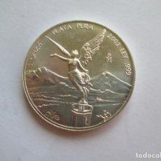 Monedas antiguas de América: MEXICO * 2002 * 1 ONZA DE PLATA PURA . Lote 137574222