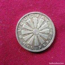 Monedas antiguas de América: URUGUAY. 1000 PESOS DE PLATA DE 1969. Lote 201314603