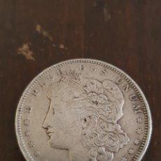 Monedas antiguas de América: DÓLAR EN PLATA 1921 ESTADOS UNIDOS. Lote 137897590
