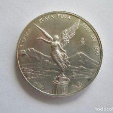 Monedas antiguas de América: MEXICO * 2001 * 1 ONZA DE PLATA PURA . Lote 137925994