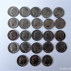 Monedas antiguas de América: ESTADOS UNIDOS - LOTE 23 MONEDAS 1 DIME -VARIOS AÑOS, VER DESCRIPCION.. Lote 138558598