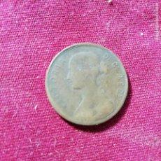 Monedas antiguas de América: TERRANOVA. NEWFOUNDLAND, CANADA. CENT DE 1872. Lote 139427030