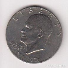 Monedas antiguas de América: UNITED STATES OF AMERICA MONEDA ONE DOLLAR DRW 1776-1976 LIBERTY 22,85GR-36MM. EBC. Lote 139561202