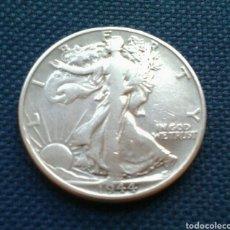 Monedas antiguas de América: USA 1/2 DÓLAR 1944 LIBERTY PLATA. Lote 139922349