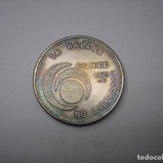 Monedas antiguas de América: CUBA, 20 PESOS DE PLATA DE 1979. Lote 140157702