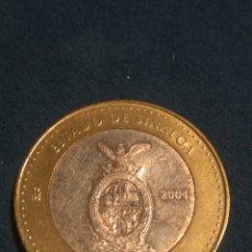Monedas antiguas de América: 100 PESOS SINALOA PLATA 2004. Lote 140412536