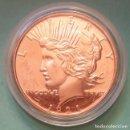 Monedas antiguas de América: ESTADOS UNIDOS - 1 DOLAR LIBERTY - 1 ONZA COBRE FINO DE CONMEMORATIVA - COLOCACIÓN DE DINERO . Lote 141248174