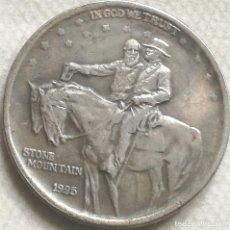 Monedas antiguas de América: RÉPLICA MONEDA ANIVERSARIO STONE MOUNTAIN. GENERAL ROBERT E. LEE - GRANT. ½ DÓLAR. 1925. ESTADOS USA. Lote 142079430