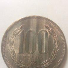 Monedas antiguas de América: 100 PESOS REPUBLICA DE CHILE. Lote 142480086