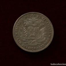 Monedas antiguas de América: 5 BOLIVARES 1936 PLATA VENEZUELA. Lote 142704394