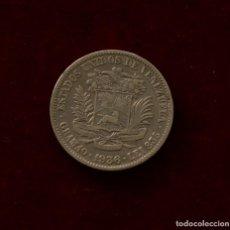 Monedas antiguas de América: 2 BOLIVARES 1936 PLATA VENEZUELA. Lote 142704842