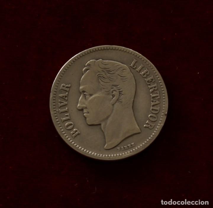 Monedas antiguas de América: 2 BOLIVARES 1936 PLATA VENEZUELA - Foto 2 - 142704842