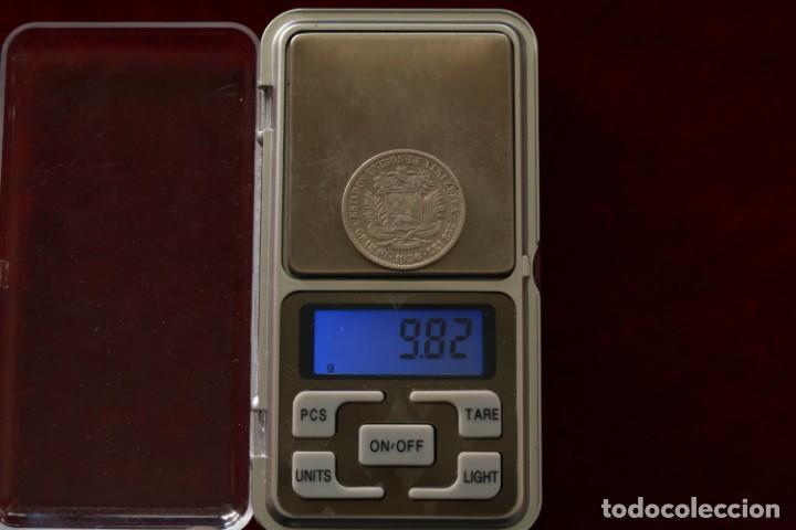 Monedas antiguas de América: 2 BOLIVARES 1936 PLATA VENEZUELA - Foto 3 - 142704842