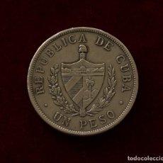 Monedas antiguas de América: 1 PESO 1932 PLATA CUBA. Lote 196567094