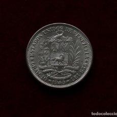 Monedas antiguas de América: 2 BOLIVARES 1945 PLATA VENEZUELA SC-/AUNC. Lote 142789022