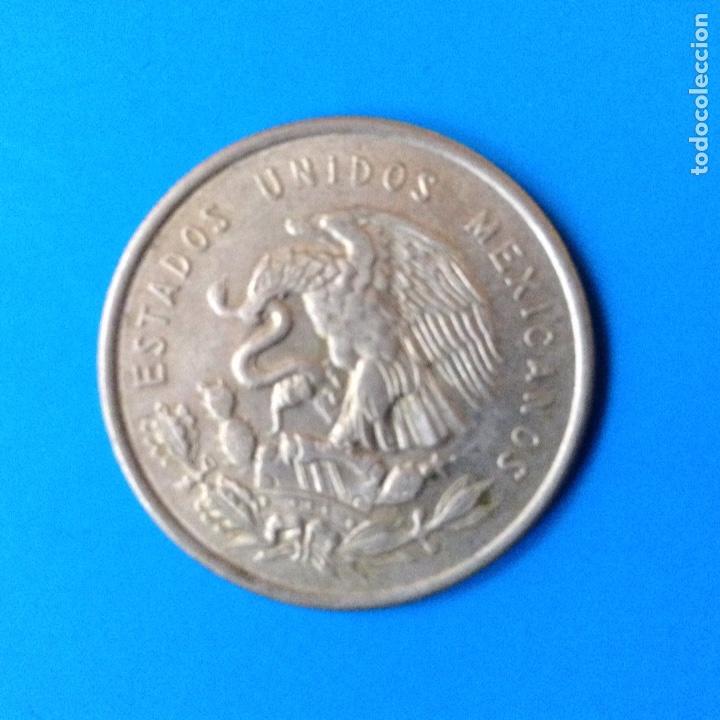 Monedas antiguas de América: MEXICO 50 CENTAVOS PLATA 1950 CUAUHTEMOC - Foto 2 - 142889110